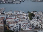 Looking down on Eivissa