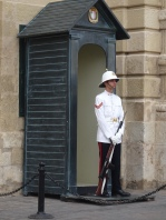 Sentries in Valletta