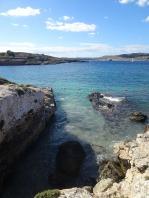 View to Gozo from Santa Marija